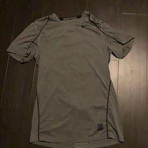 Gray nike tshirt
